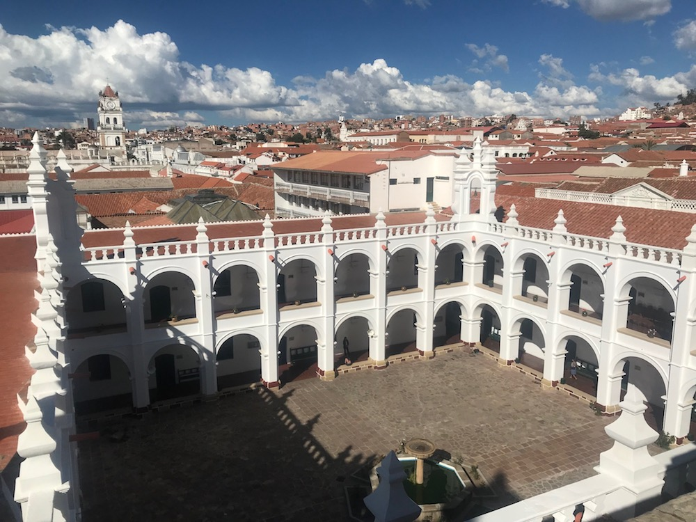 Sucre ist die Hauptstadt Boliviens