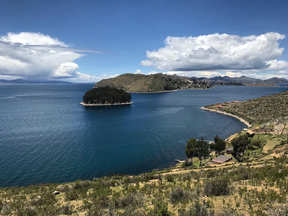 Titicacasee in Bolivien